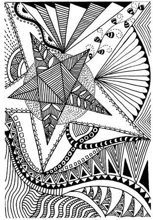 Zen Drawing Ideas Oswoa1 Art Drawings Doodles Zentangle