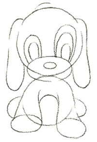how to draw a cartoon puppy dog in easy steps drawing doodles amp cartoons