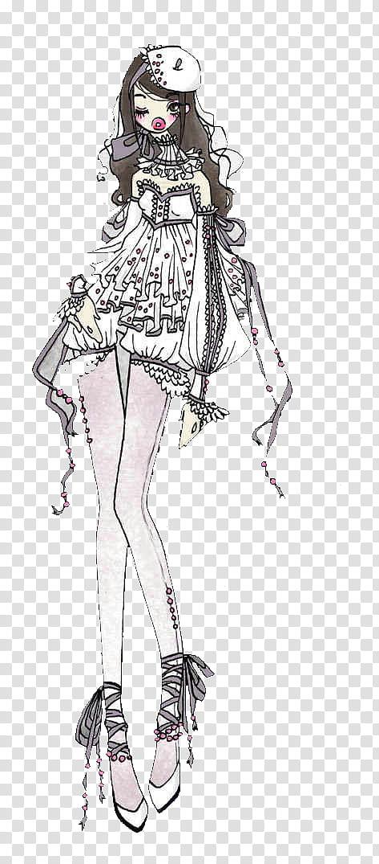 munecas dolls black haired female anime character illustration png clipart jpg