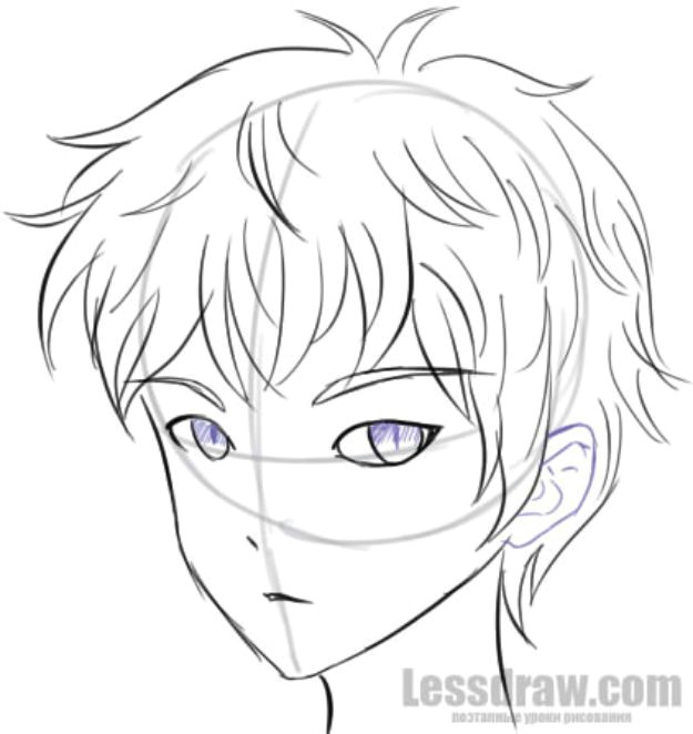 Anime Drawing Step by Step Boy 100 Tutorials to Teach You How to Draw Anime Boy