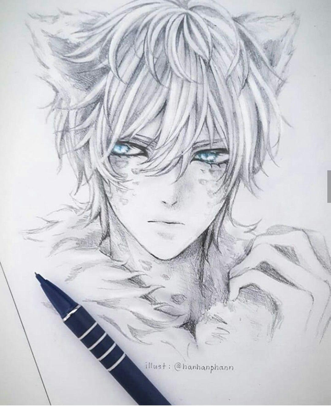 Anime Hat Drawing Pin Von Ceez Pendragon Auf Oc2 In 2019 Anime Anime Boy