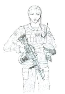 abfd894c68923533821b3a19146aa02f female army soldier soldier drawing jpg