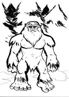 4f724dcc25d3b5ef49b4b7337c6e81c2 bigfoot sasquatch cartoon pics jpg