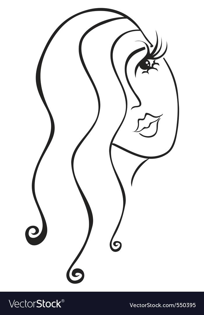 face of woman vector 550395 jpg