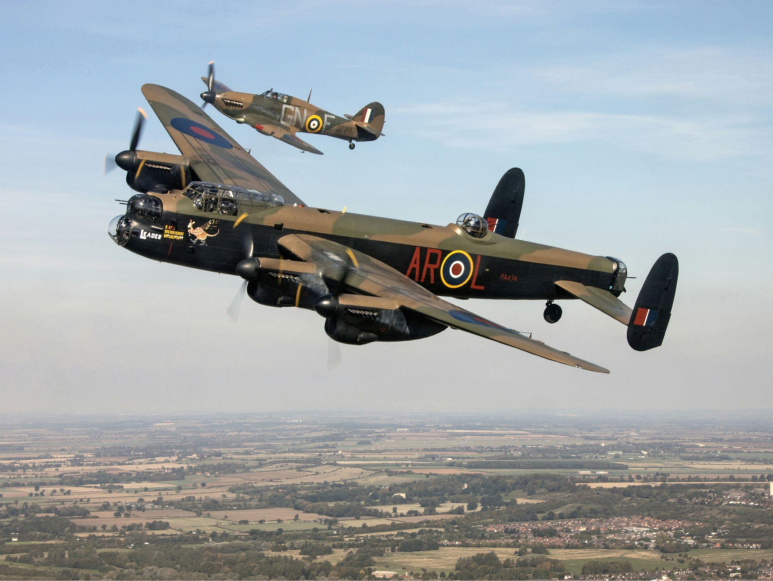 battle of britain memorial flight members 27 day 2018 mod 45164718 jpg