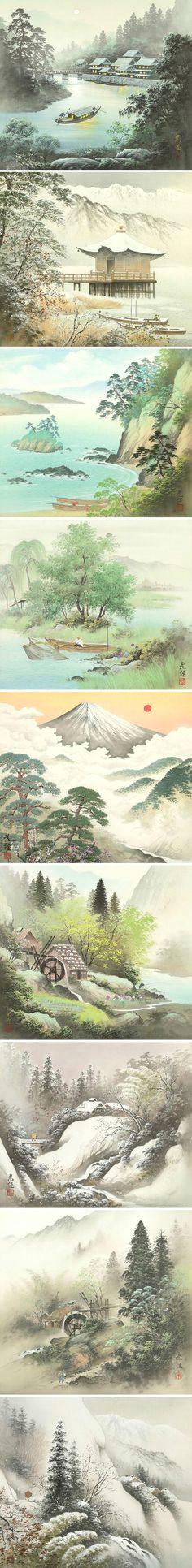 dc0e77d8dfd4313dbead41b651bacbd9 japanese painting chinese painting jpg