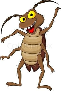Cockroach Drawing Easy Cockroach Cartoon Cartoon Drawings Animal Sketches Cartoon