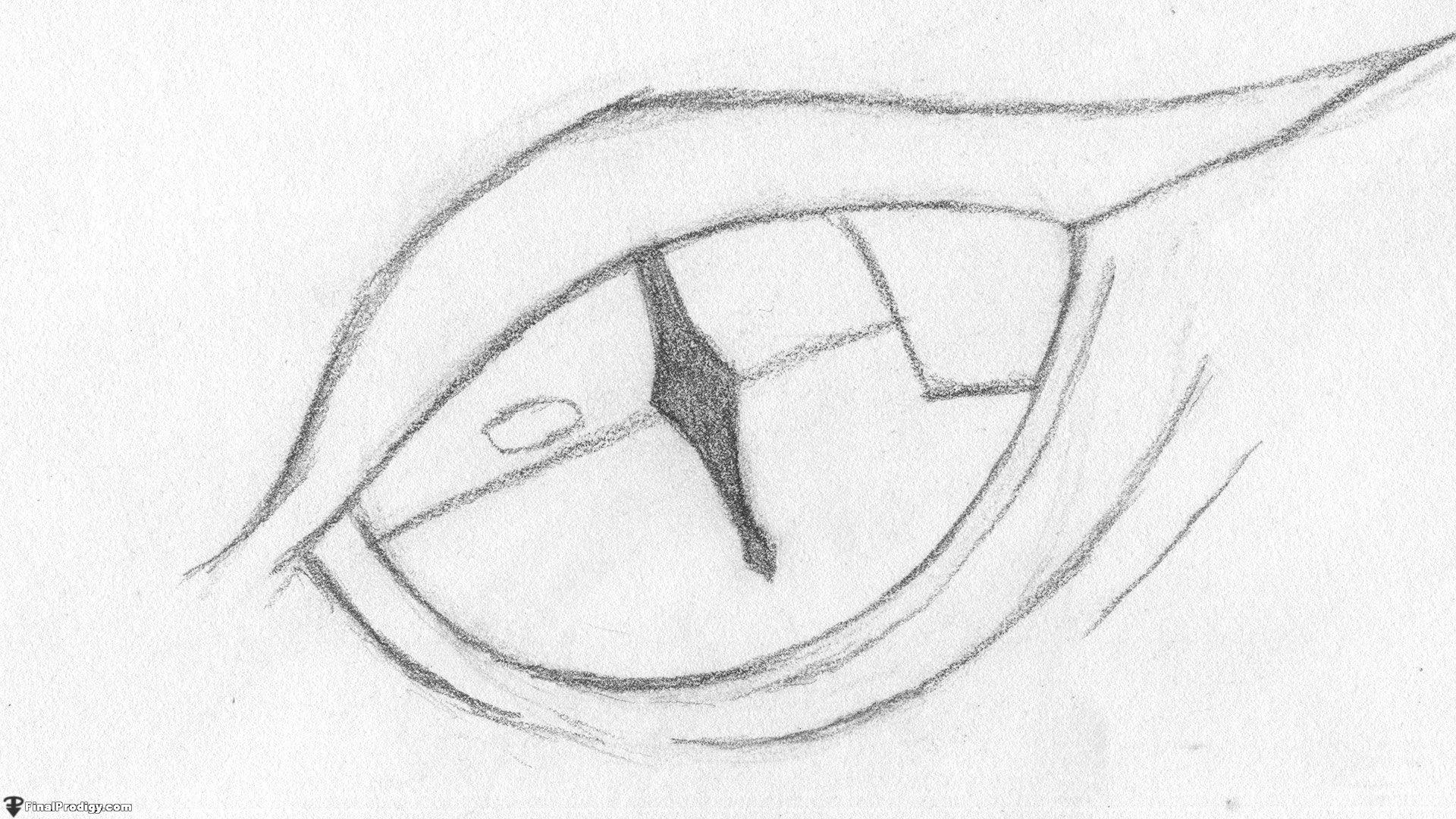 Dragon Eye Drawing Easy How to Draw A Dragon Eye Smaug S Eye Finalprodigy Com