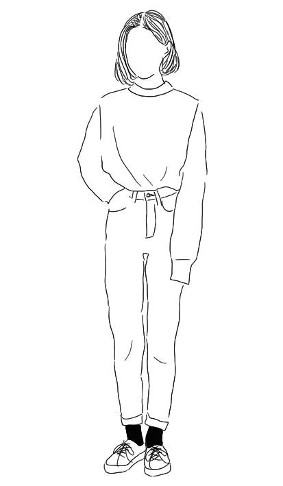 Drawing Of A Girl whole Body Step by Step Via Tumblr Drawings Sketches Art Drawings