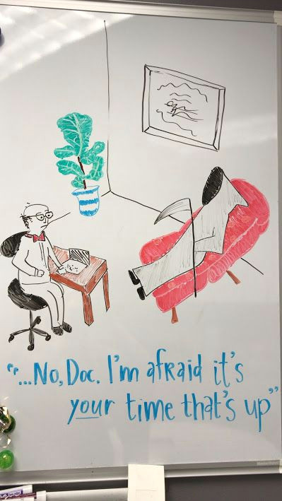 Dry Erase Draw Figures that Become Animated therapist Cartoon Dry Erase Marker Art Art by Rachel