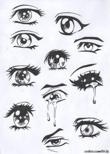 Easy Anime Eye Drawings Pin by Nichaphat Heart On Cartoon Drawings Easy Anime