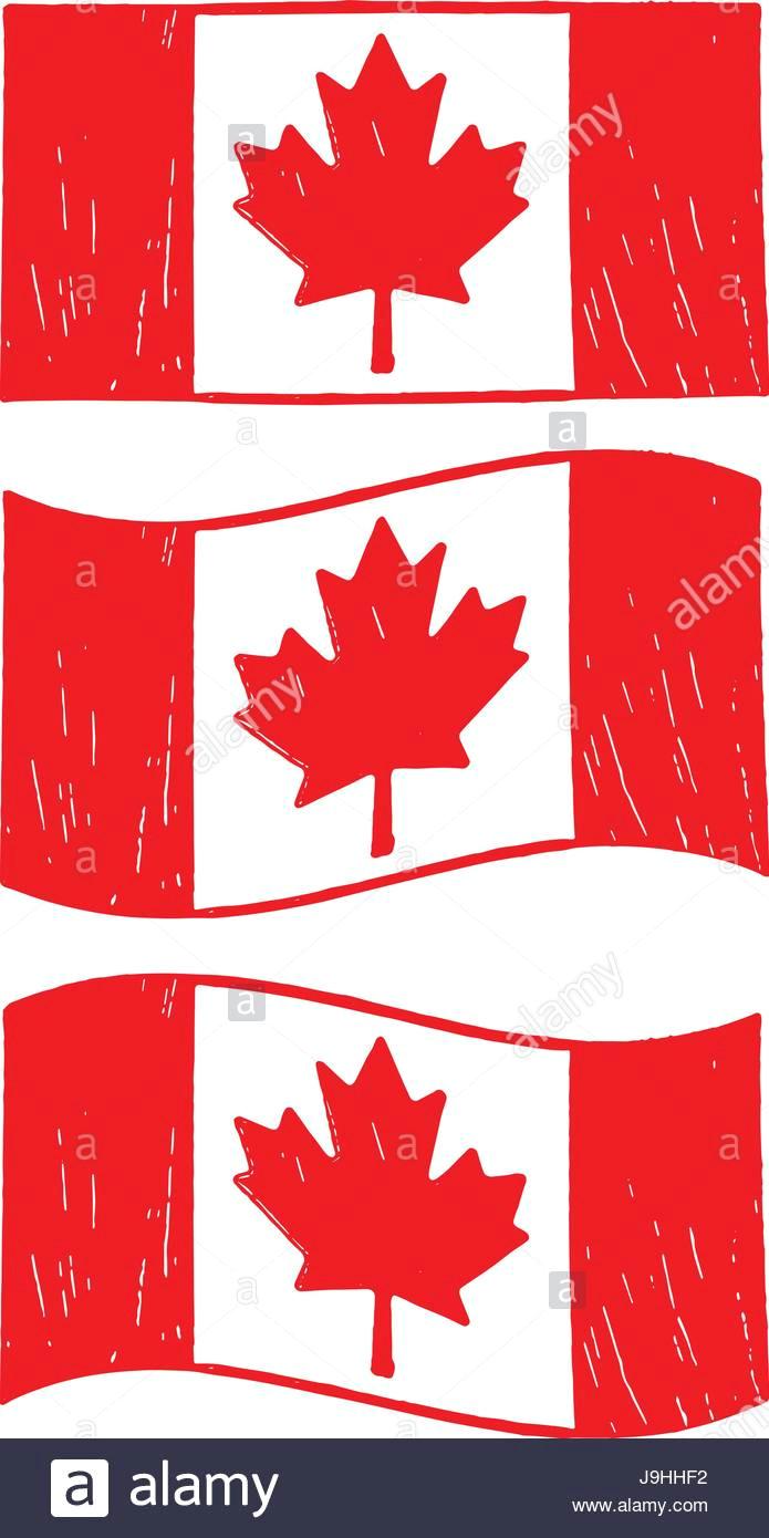 kanadische flagge illustrationen j9hhf2 jpg