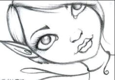 ae0d2f63520a9b97af271b7cfc87b301 easy pencil drawings fairy drawings jpg