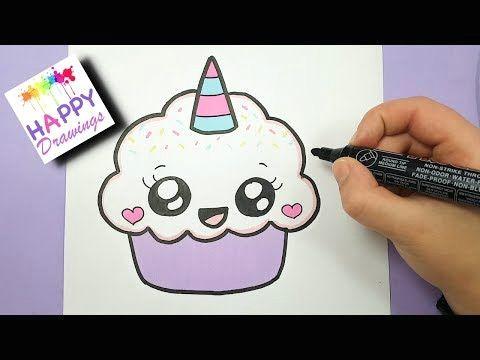Easy Cute Unicorn Pictures to Draw 228 Kawaii Einhorn Malen How to Draw Cute Unicorn