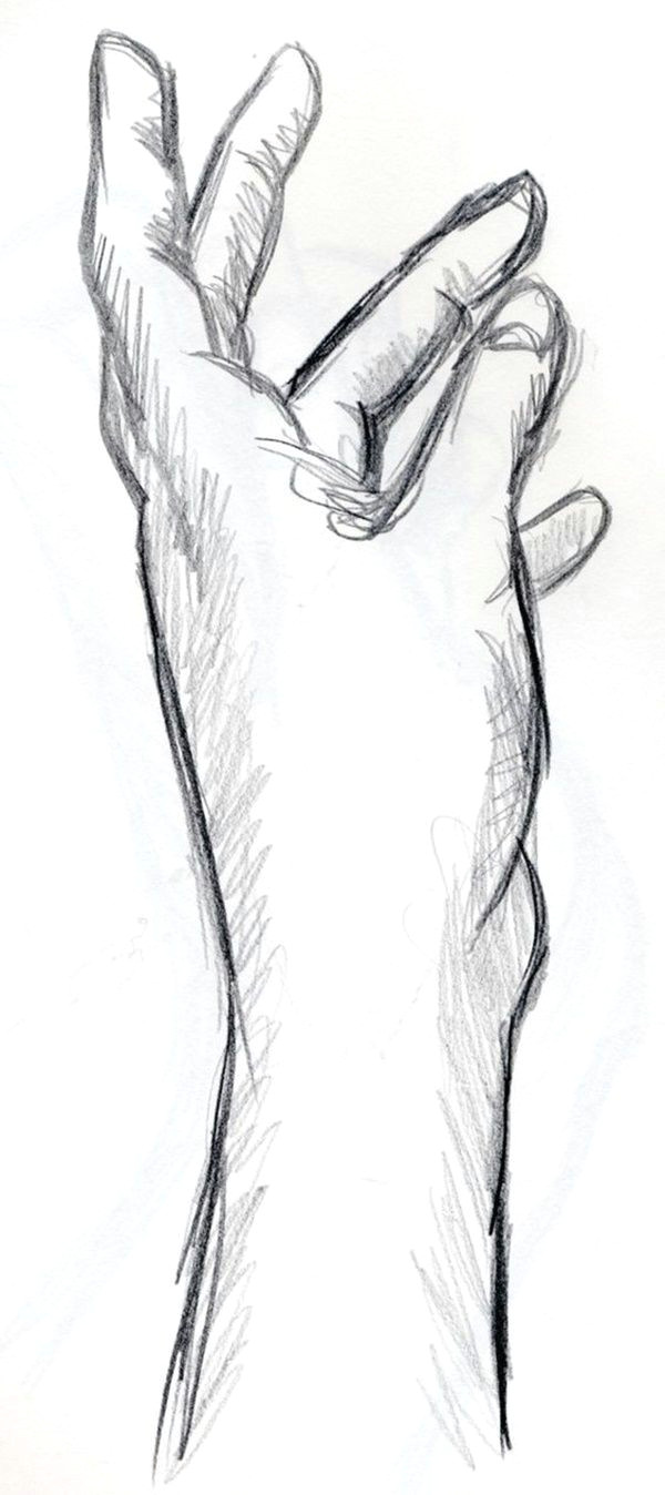 Easy Figure Drawing Cool and Easy Things to Draw when Bored Hande Einfache