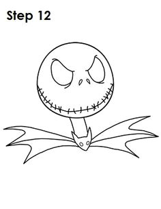 6614409c2d8000fdd5004e686036ea87 jack skellington how to draw jpg