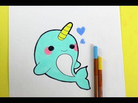 Easy Kawaii Things to Draw Happydrawings Draw Cute Things Kawaii Diy Youtube