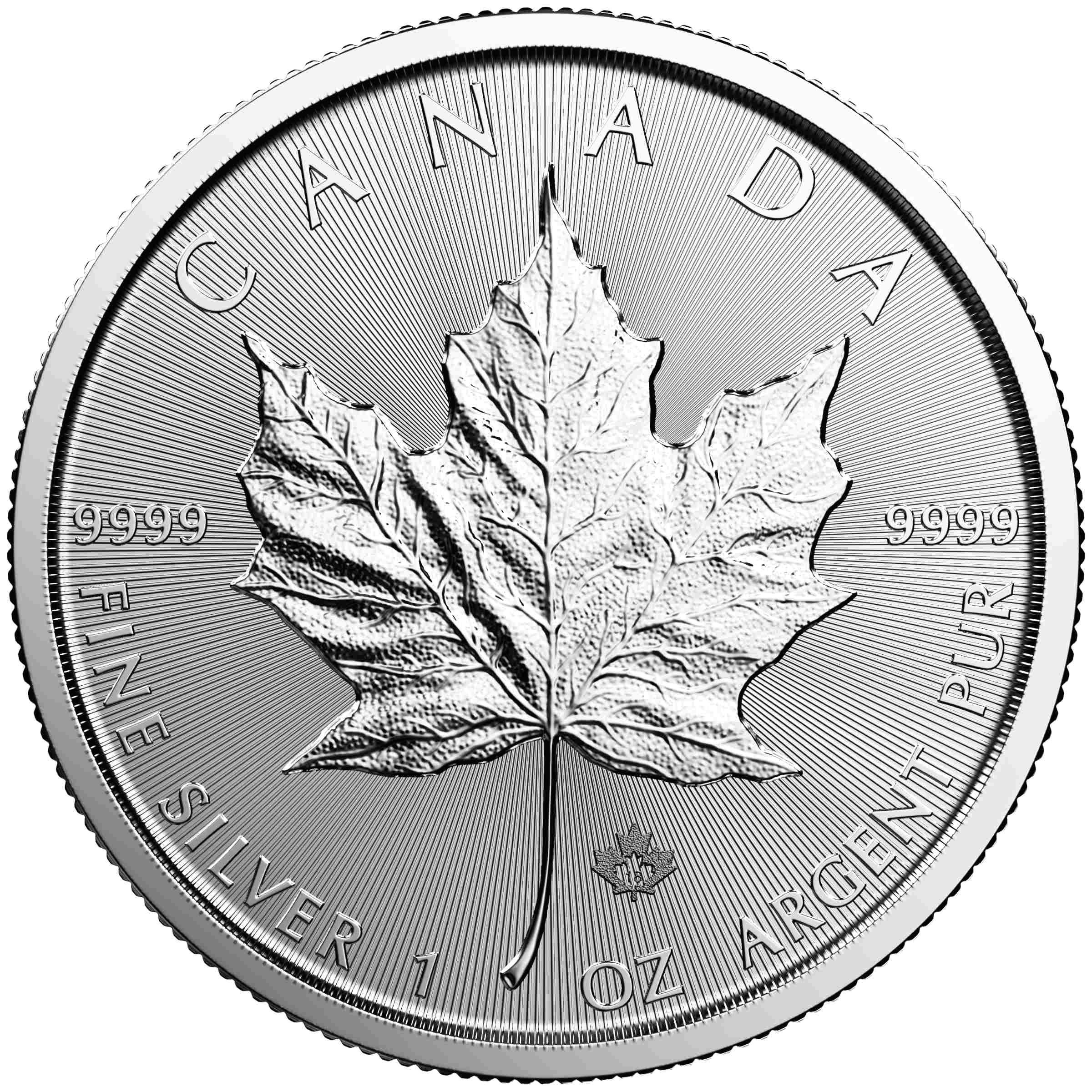 1oz maple leaf silber 2018 1 unze silver coin jpg