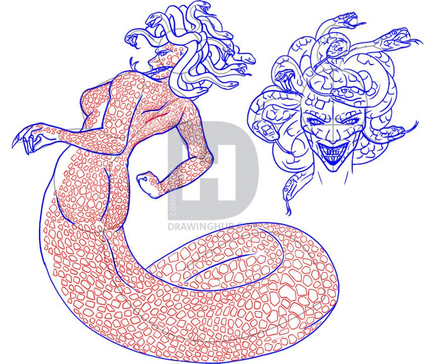 how to draw medusa step 6 5b589dd4706e90 55419143 34623 1 3 jpg