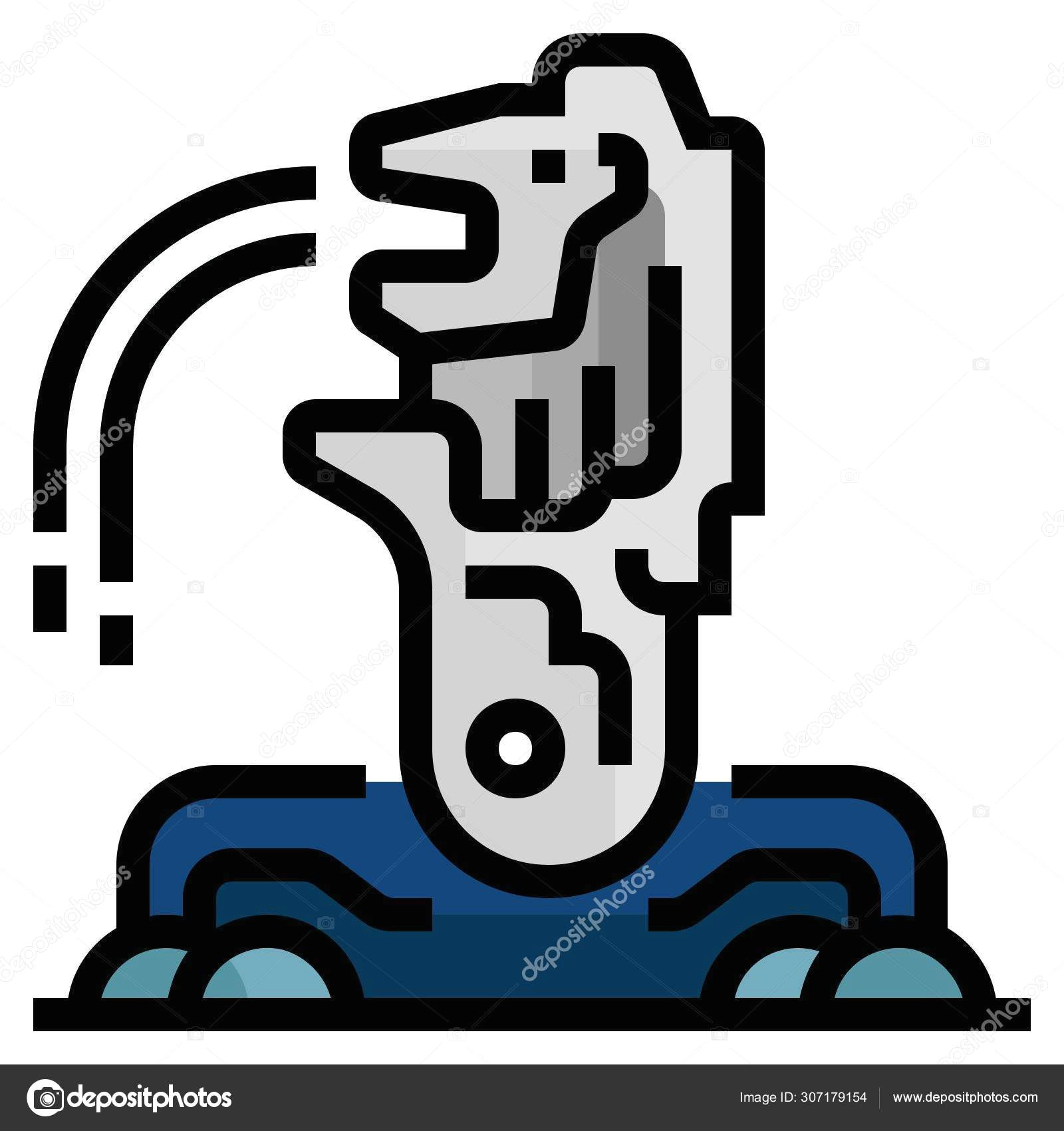 depositphotos 307179154 stock illustration merlion web icon simple design jpg