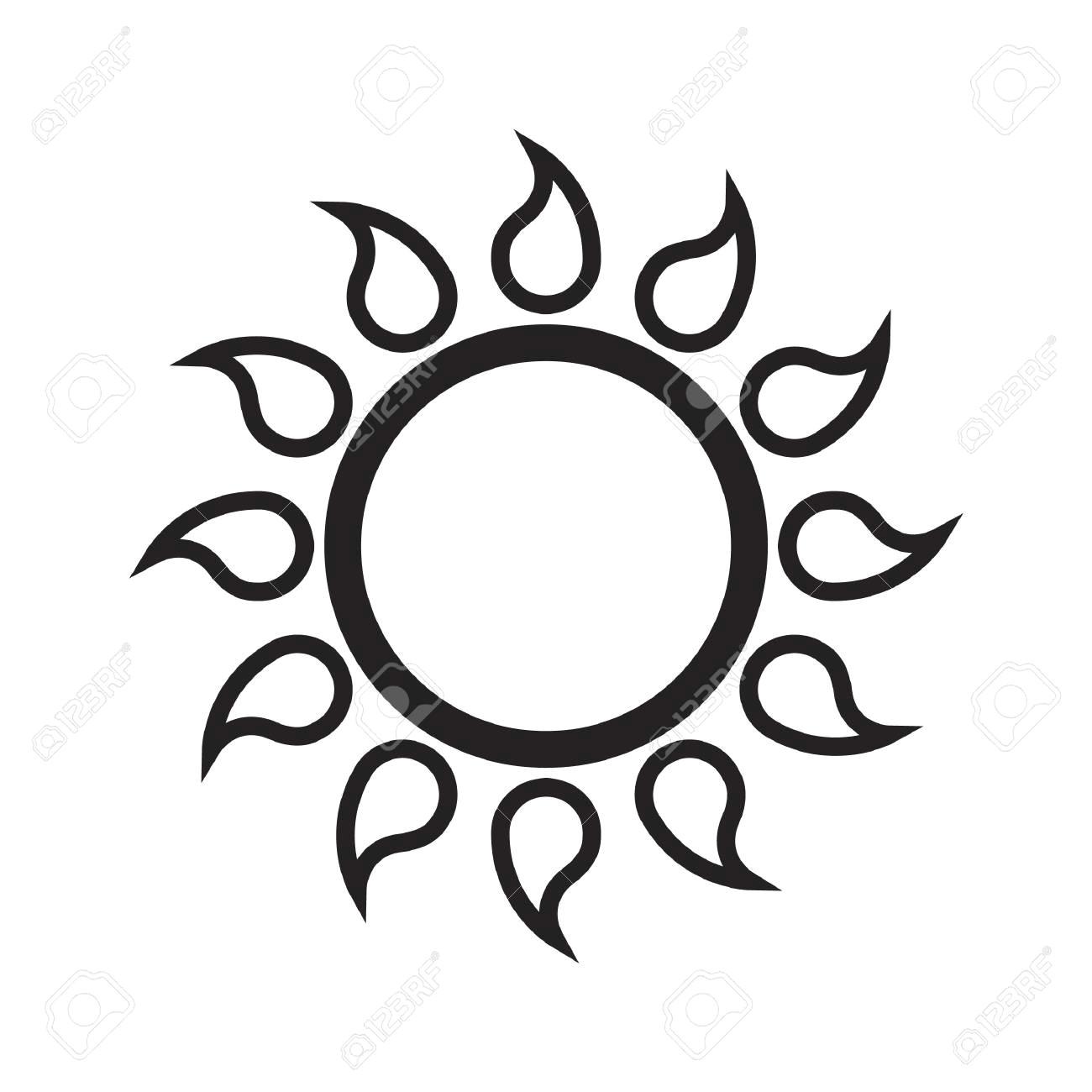 83946282 simple thin line sun icon vector jpg