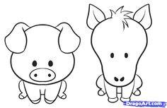 a11e283d141f2f8fd177da7b31cca33d easy drawings of animals cute animal drawings jpg