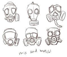 d7dc68cb6193f06d8c2e9697619f2044 gas mask art masks art jpg