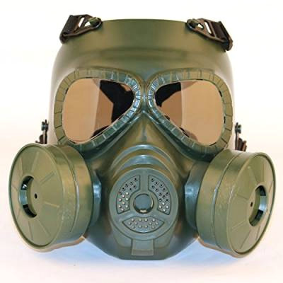 sgoyh schnuller smoked lens anti fog gas face mask with double turbo fan tactical airsoft paintbal protection gear od von sgoyh 599457999 jpg