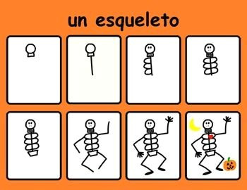 Easy to Draw Halloween Things How to Draw Halloween Spanish Easy Drawings Halloween