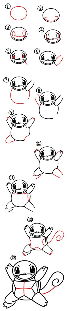 cfc5a870f58efa127120bfb492670158 how to draw a pokemon famous cartoons jpg