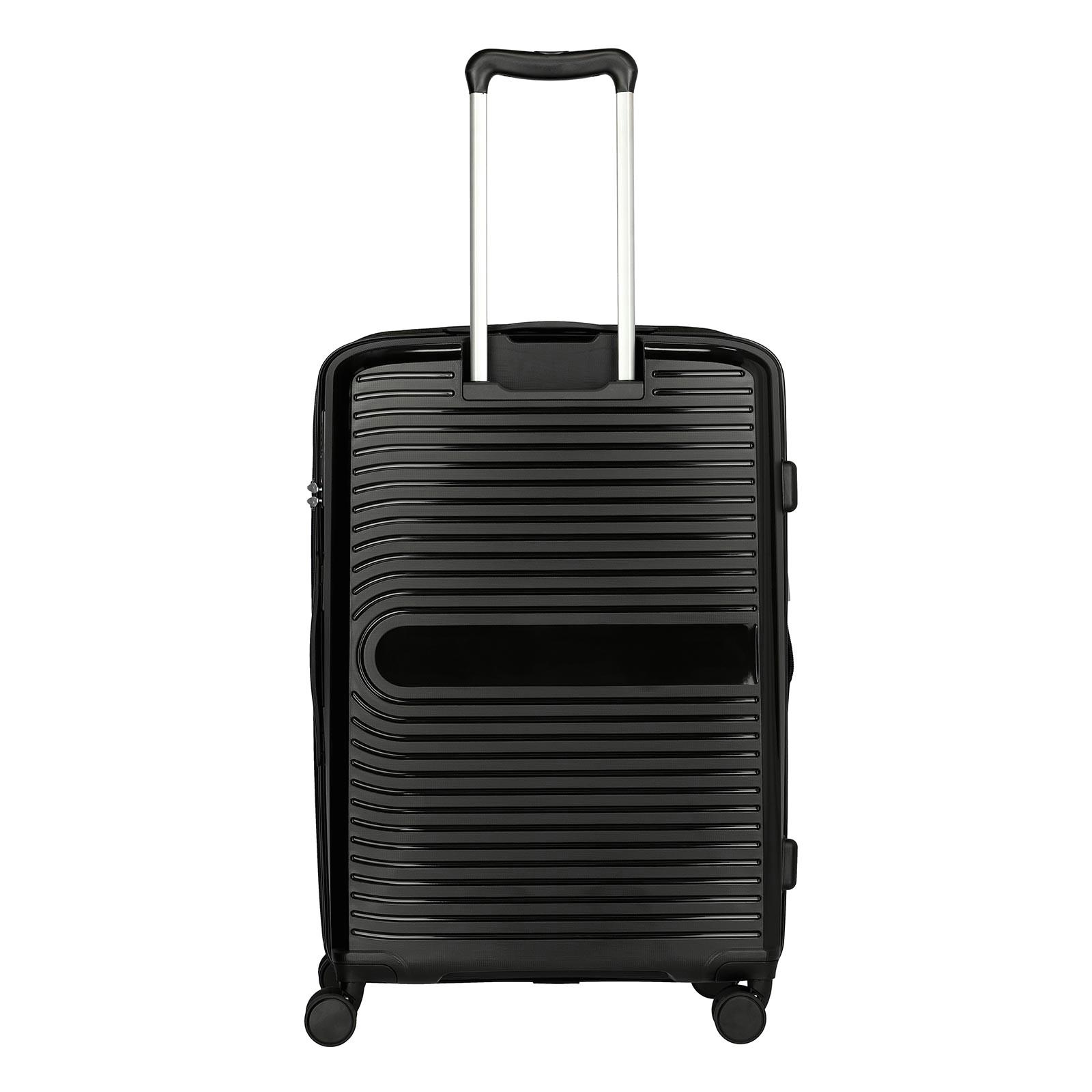 travelite ceris trolley 69 cm 4 rollen erweiterbar schwarz k113007 c jpg