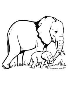 56c5720b46336d7b230f2db99ea4c5ff elephant outline elephant stencil jpg