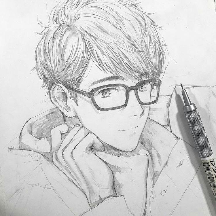 Free Anime Drawing Art by Shiniji Anime Free Anime Drawings Sketches Anime
