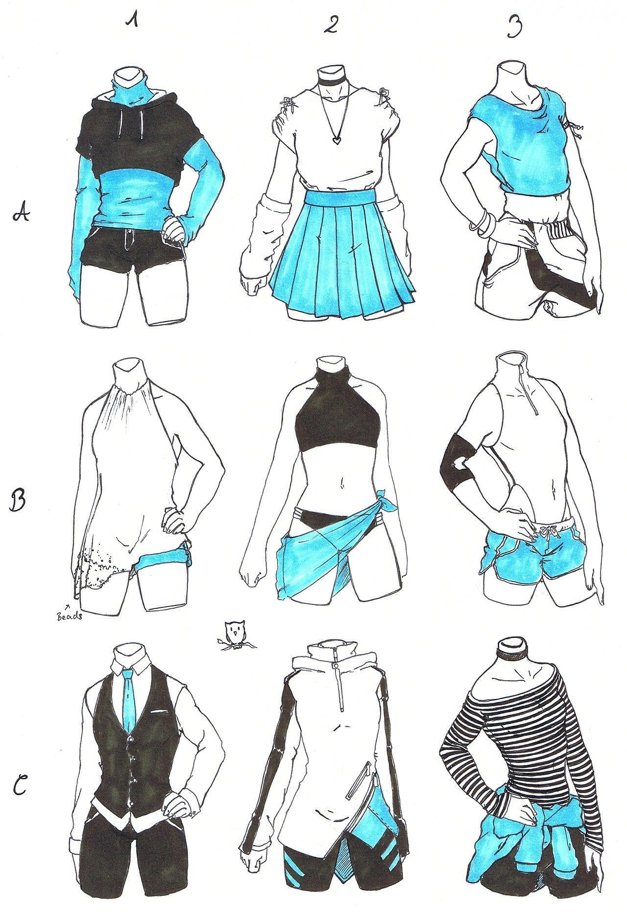Girl Clothes Drawing Outfits Girl Art Design De Personagem Desenhos De