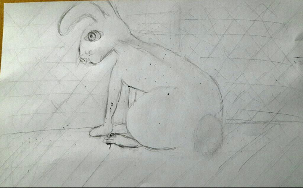 bunny semi realistic by thethingxet dbluuod fullview jpg