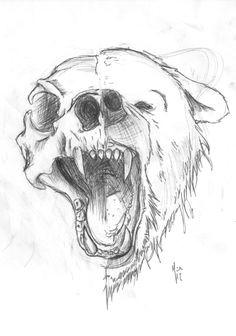 0a9b436a5959eda4da59284a9326bf40 anime wolf drawing bear drawing jpg
