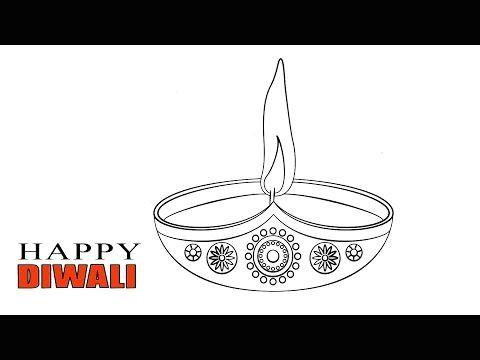Happy Diwali Drawing Easy Happy Diwali Drawing Easy Diwali Drawing Easy Drawings