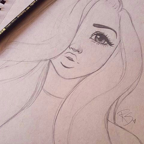 How Draw A Girl Easy Image Result for Beautiful Easy Things to Draw Sketch