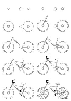 f775cc9812b51f87d06754d77e5a590a bicycle drawing bicycle art jpg