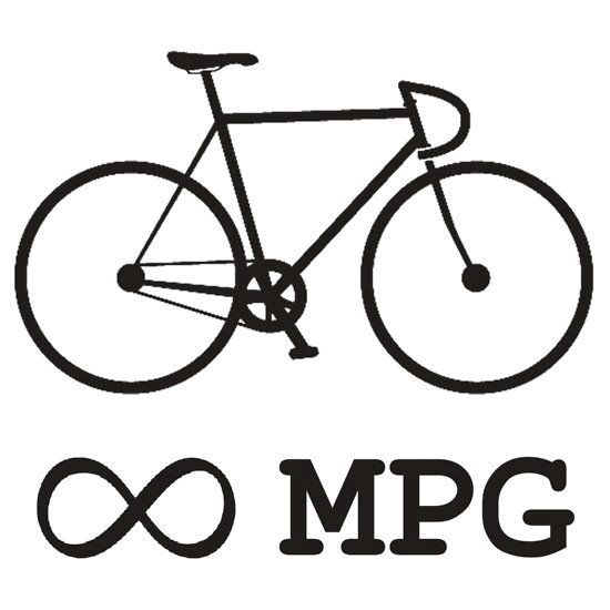 How to Draw A Bicycle Easy Bike Infinity Mpg Bicycle Cycling T Shirt by Evolucion
