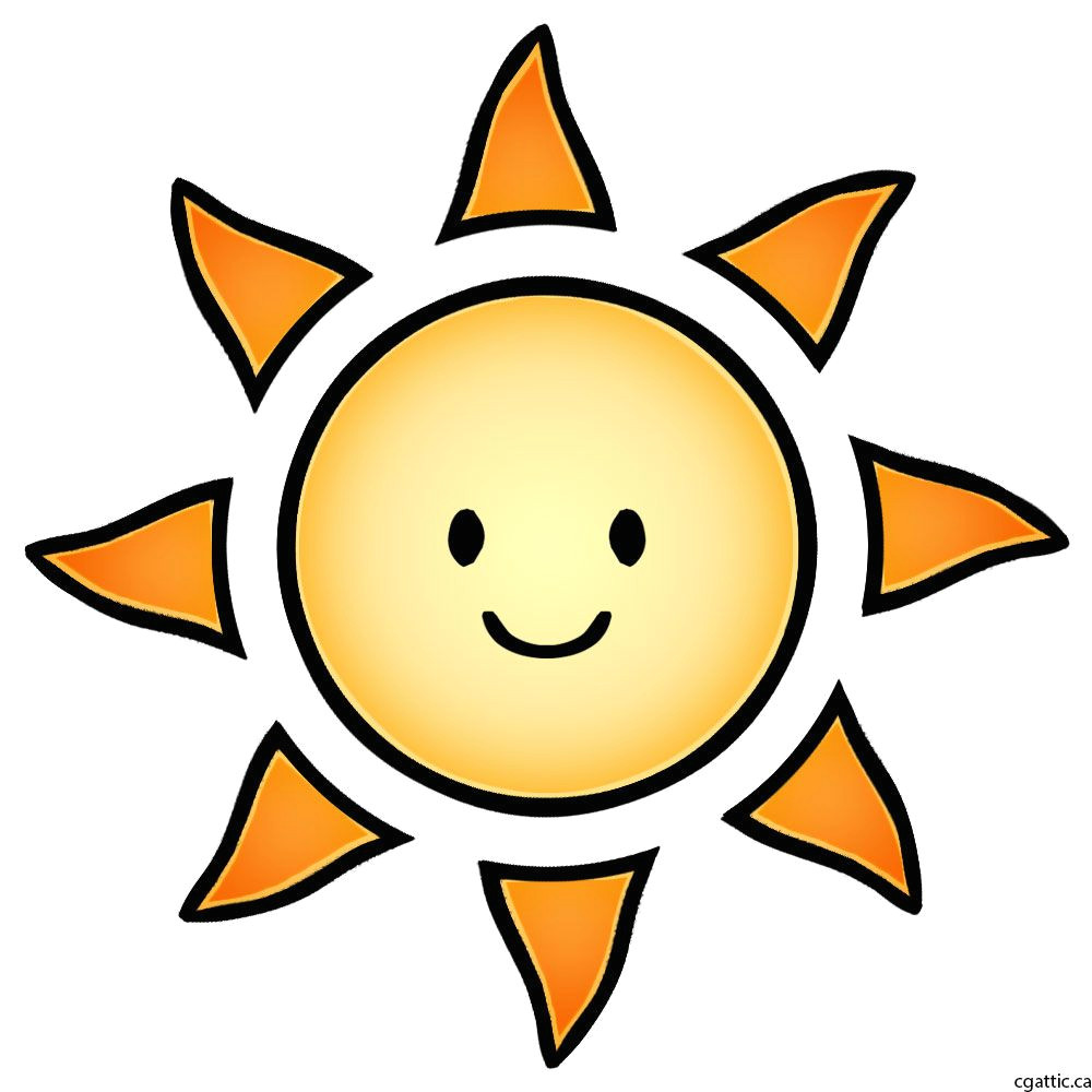 How to Draw A Easy Sun Sun Cartoon Drawing In 4 Steps with Photoshop Cartoon