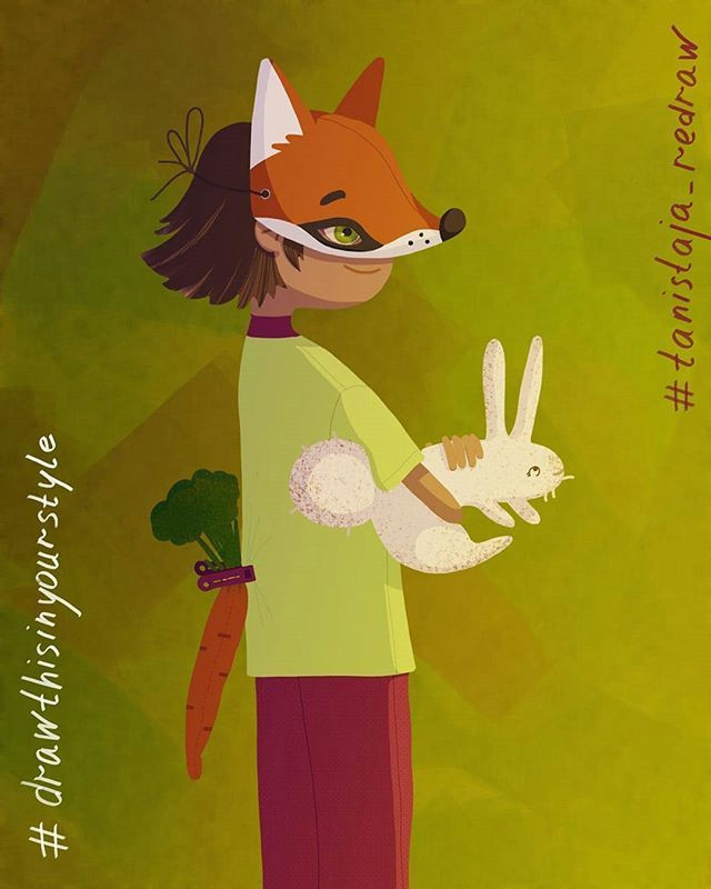 How to Draw A Fox Girl Hello Friends Here is My Picture Foxgirl for
