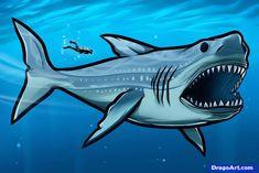 d222a4d7dba4d0dfe97fdc5d2aead2b9 shark drawing megalodon shark jpg