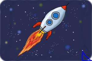 how to draw a rocket ship jpg