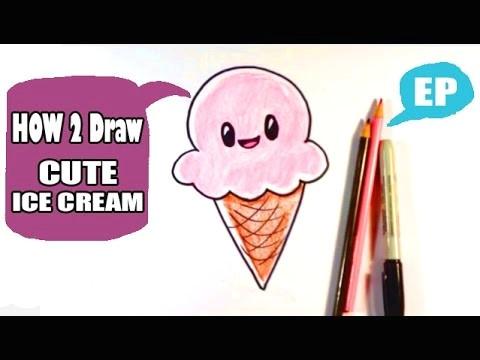 how to draw a cute ice cream cone gbpq o jpg
