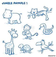 3ec60ebb6ecc3399ddaf2c57528addd1 monkey doodle giraffe doodle jpg