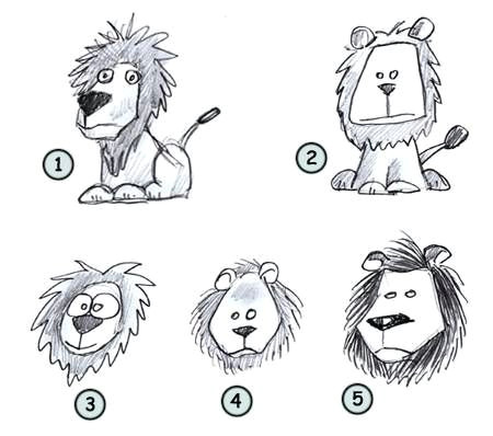 6b0de4a47ac39fd6da5816a75acff5bf cartoon lion scribble jpg