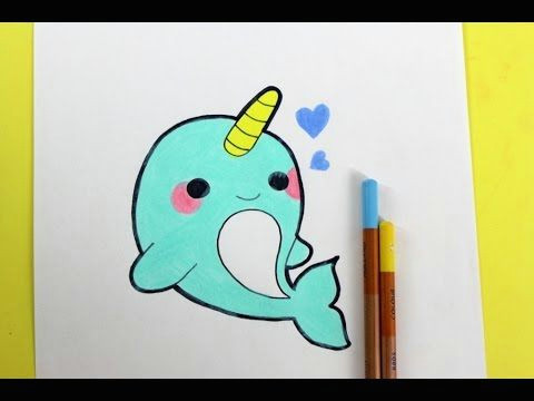 Kawaii Easy Cute Animal Drawings Happydrawings Draw Cute Things Kawaii Diy Youtube