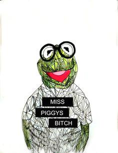 971c7d945a8cdfc241b048d49139919d frog art kermit the frog jpg