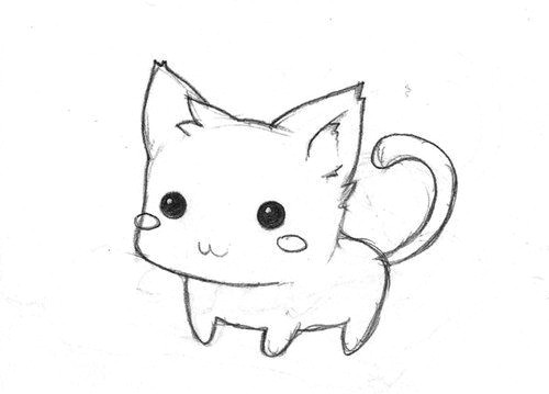 Kitty Drawing Easy How to Draw Whimsical Baby Google Search Kitten Drawing
